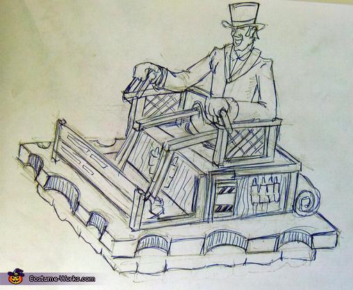 Steampunk Traveller Costume