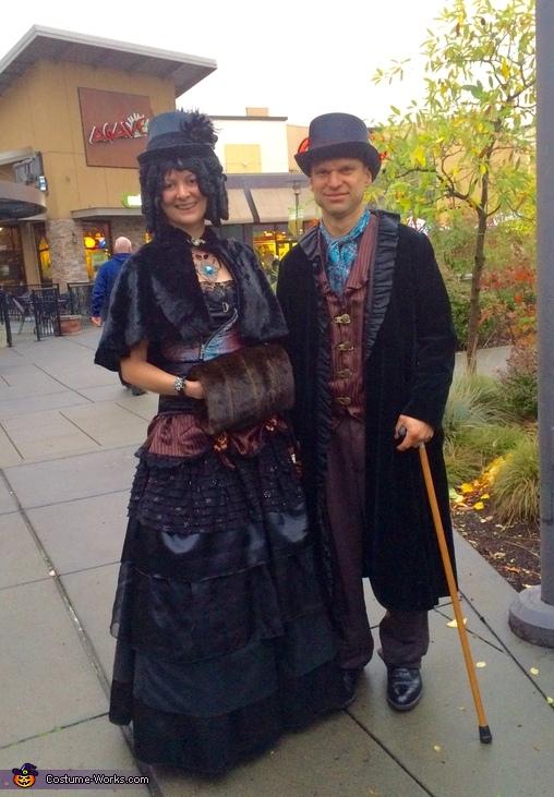 Steampunk Victorians Costume