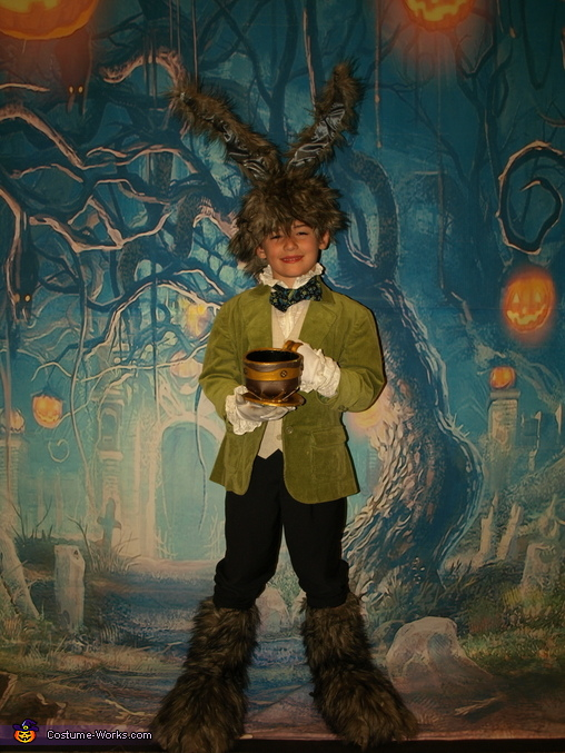 Steampunk March Hare: I'm proudest of those rabbit feet!, Steampunk Wonderland Family Costume