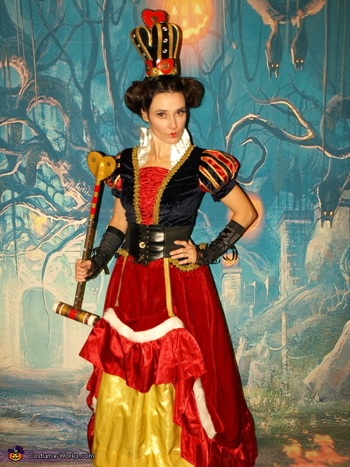 Steampunk Queen of Hearts, Steampunk Wonderland Family Costume