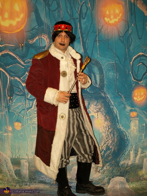 Steampunk 'Emo' King of Hearts, Steampunk Wonderland Family Costume
