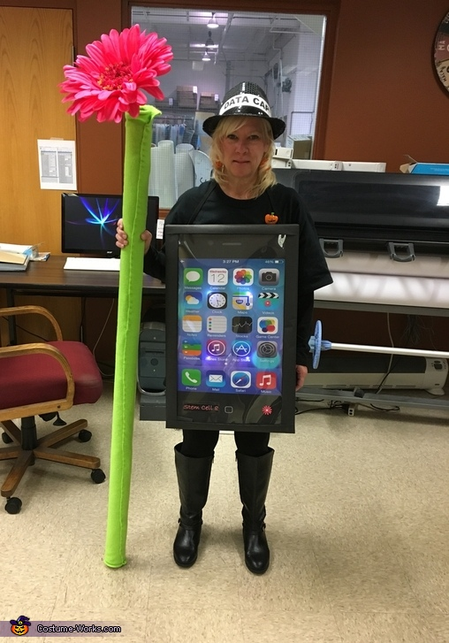 Stem Cell with built in Butt Dialing Costume