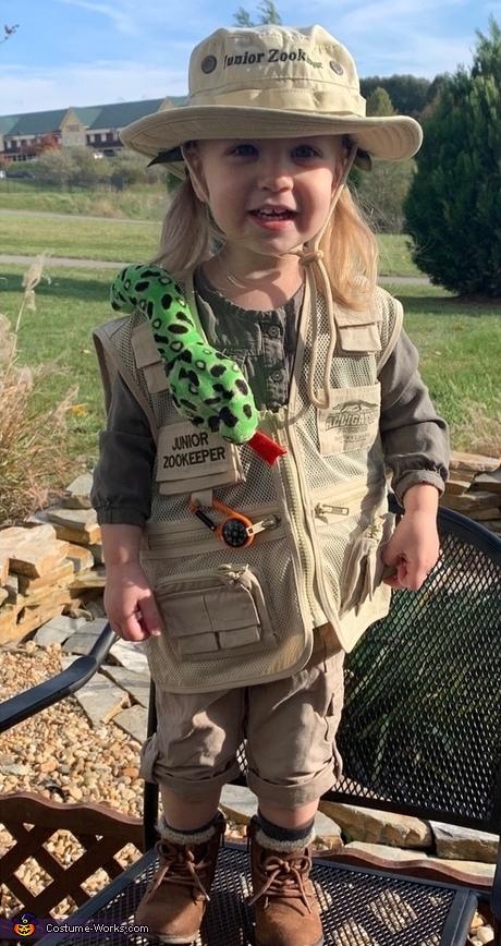 Steve Irwin Family Homemade Costume