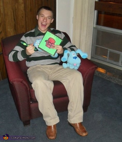 Thinking Chair, Steve from Blue's Clues Costume