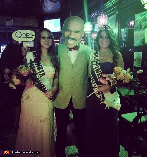 Steve Harvey's Mistake Costume