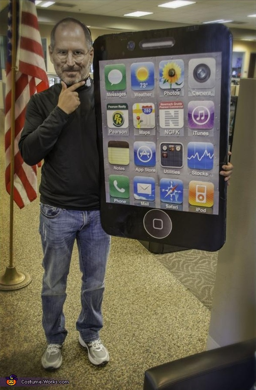 Steve Jobs and iPhone/iPad Costume