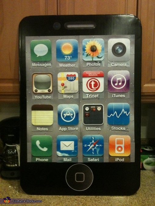 Large iPhone/iPad, Steve Jobs and iPhone/iPad Costume