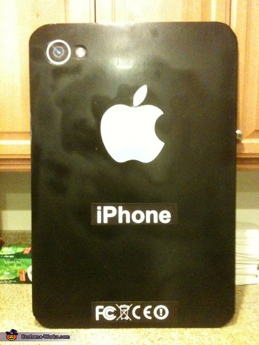 Back of the iPhone, Steve Jobs and iPhone/iPad Costume