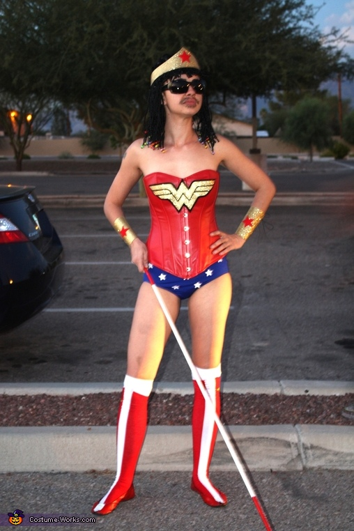 Stevie Wonder Woman Costume