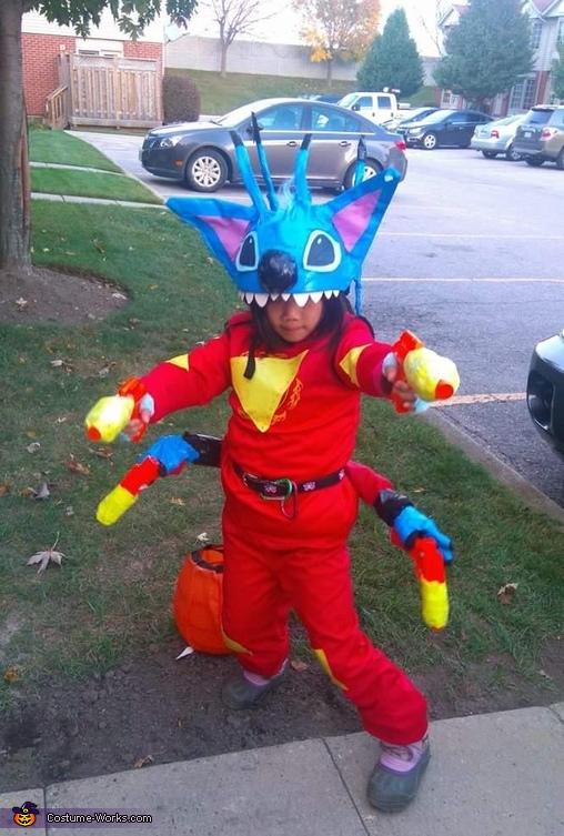 Homemade Stitch Costume Photo 2 10
