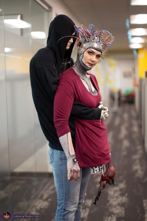 Stolen Cyborg Homemade Costume