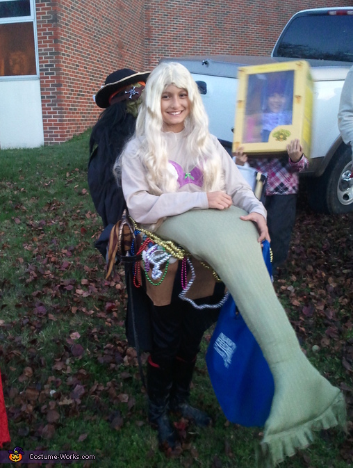 Stolen Mermaid Costume
