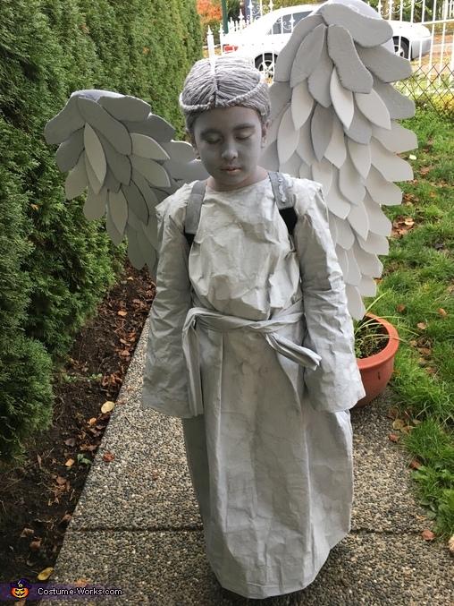 Stone Angel Homemade Costume