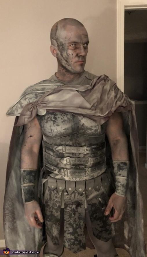 Stone Soldier Costume