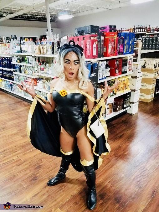 Storm Homemade Costume