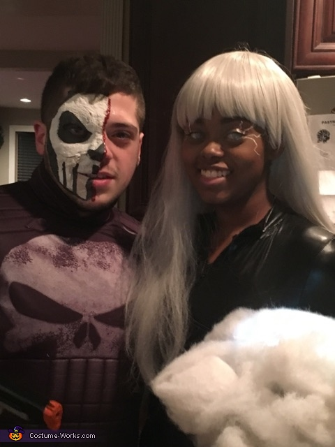 Storm and punisher, Storm Costume