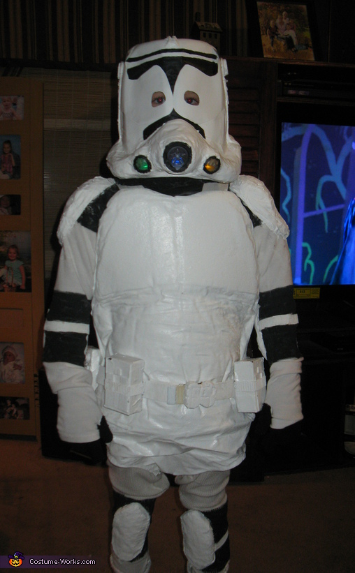 Storm Trooper Costume & Homemade Storm Trooper costume