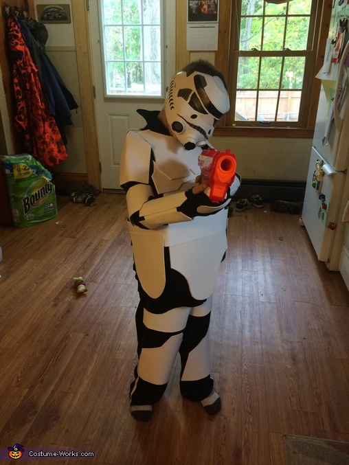 Storm Trooper Homemade Costume