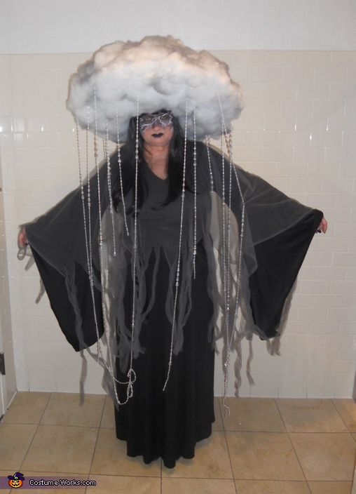 Stormy Lightning Rain Cloud Costume