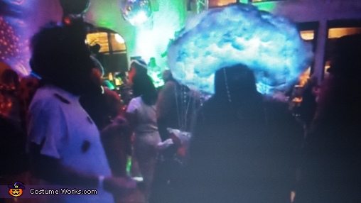 Stormy Lightning Rain Cloud by Yvonne, Stormy Lightning Rain Cloud Costume