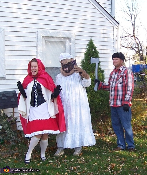 Story of Little Red Riding Hood Family Costume