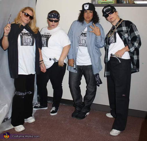 Straight Outta Water Homemade Costume