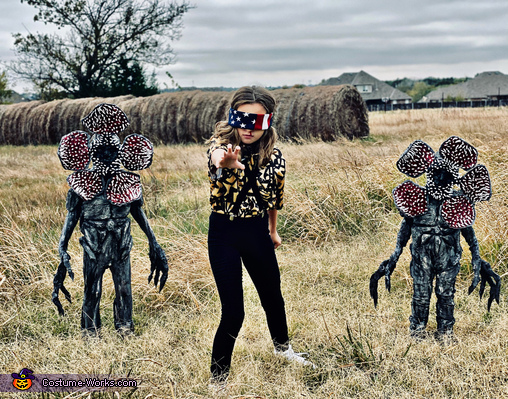 Stranger Things! Eleven & Demogorgons, Stranger Things Costume