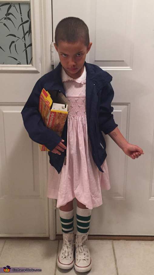 Stranger Things Eleven Costume