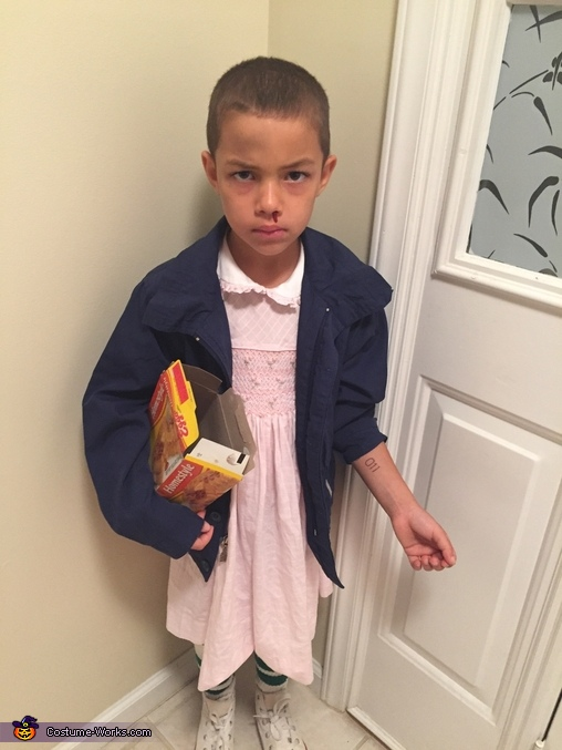 Stranger Things Eleven Homemade Costume