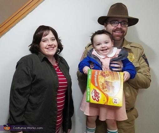 Stranger Things Family Costume