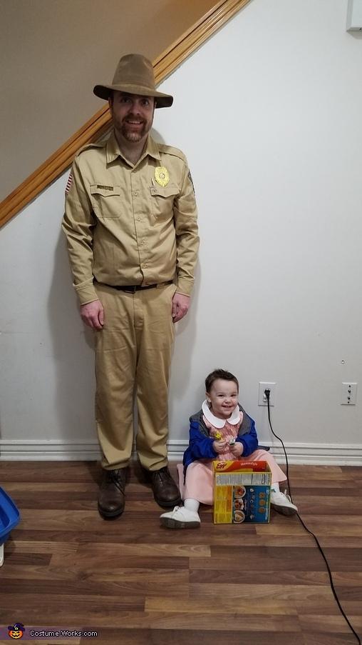 Stranger Things Family Homemade Costume