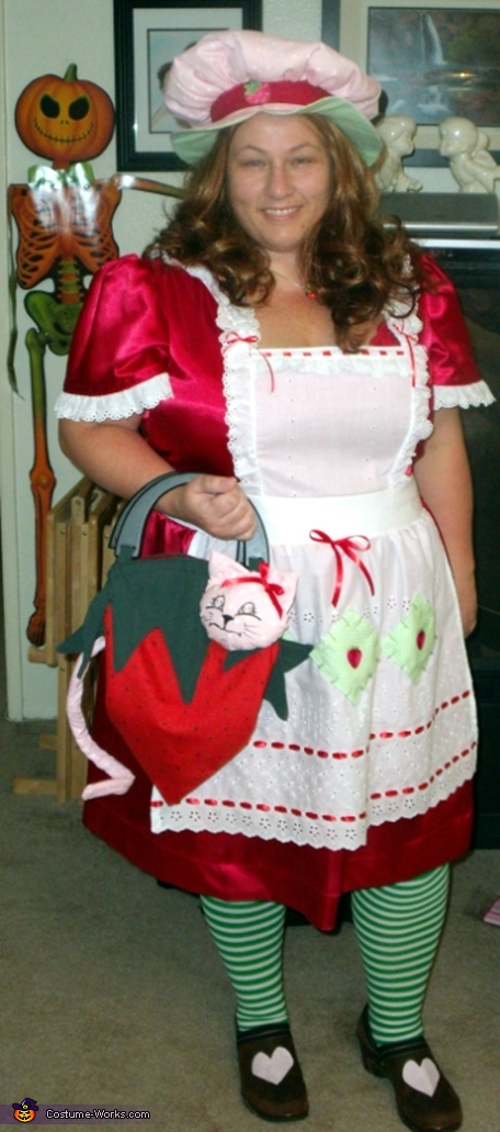 strawberry Adult costume shortcake