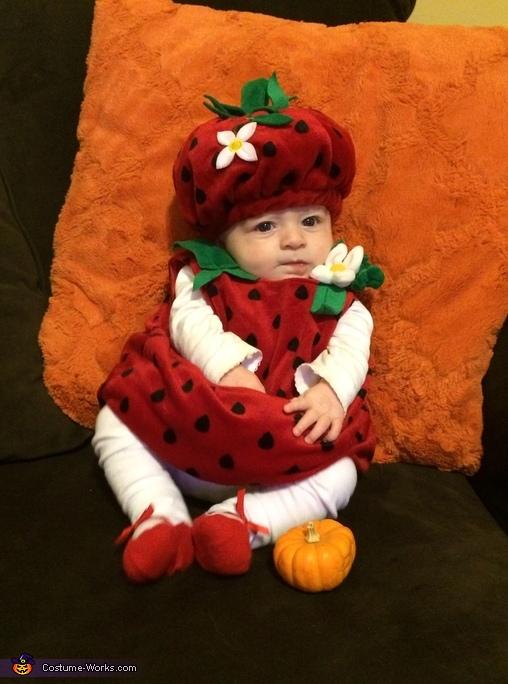 Strawberry Baby Costume