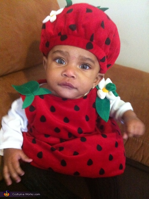 Justice as a strawberry, Strawberry Baby Costume