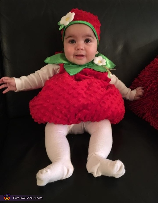 sc 1 st  Costume Works & Strawberry Baby Costume