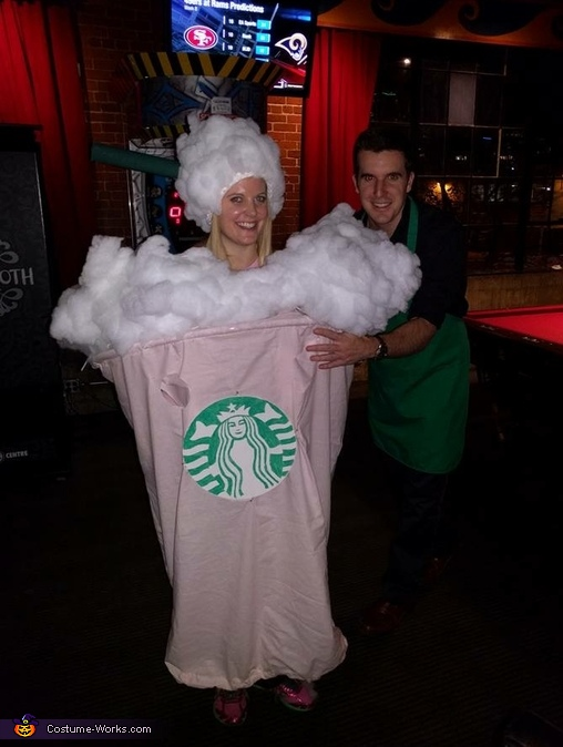 Strawberry Frappuccino Costume