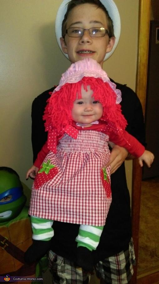 Strawberry Shortcake Costume