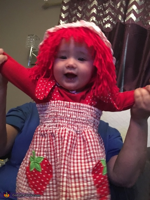 Strawberry Shortcake Homemade Costume