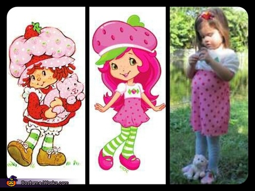 strawberry through the years!, Strawberry Shortcake Costume