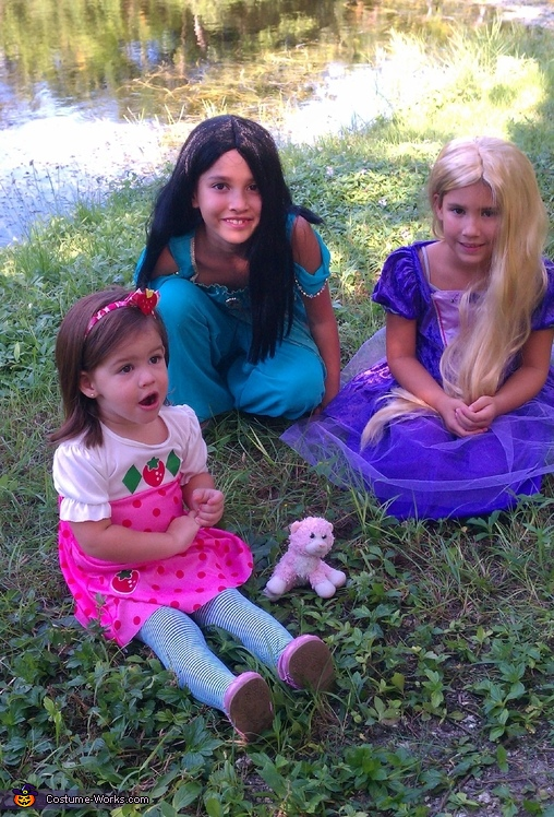 strawberry alayna and the princesses!, Strawberry Shortcake Costume