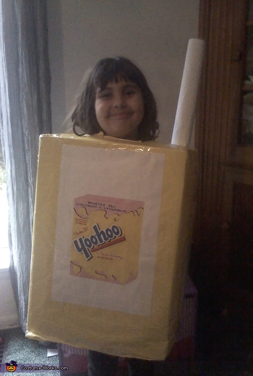 Strawberry Yoohoo Costume