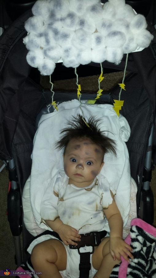 Struck by Lightning Baby Costume