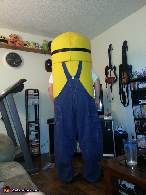 Stuart The Minion Homemade Costume