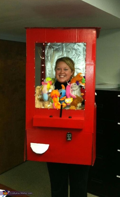 Stuffed Animal Claw Machine Costume