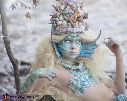 Siren close up, Stunning Siren Costume