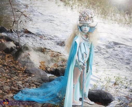 Siren with cape, Stunning Siren Costume