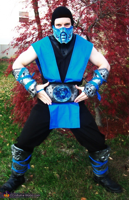 Homemade Sub Zero Costume