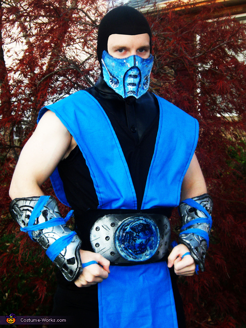 Homemade Sub Zero Costume Photo 3 3
