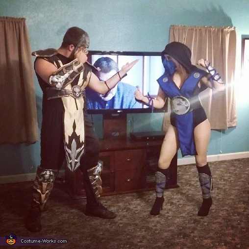Mortal Kombat Sub Zero Costume For Women Photo 3 3