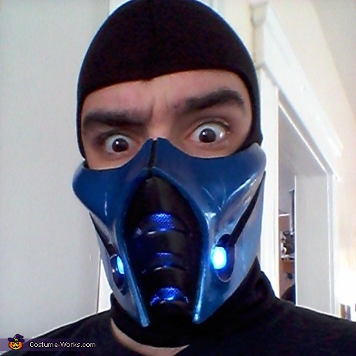 Sub Zero Homemade Costume